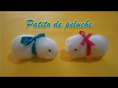 Patito de peluche FÁCIL