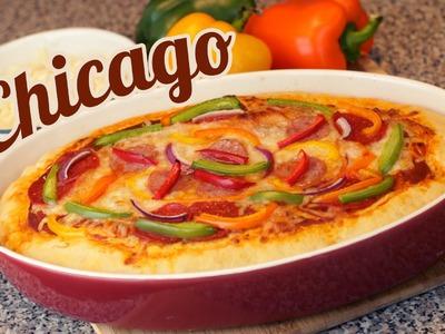 PIZZA CHICAGO | COMO HACER PIZZA | MUSAS | LOS POLINESIOS