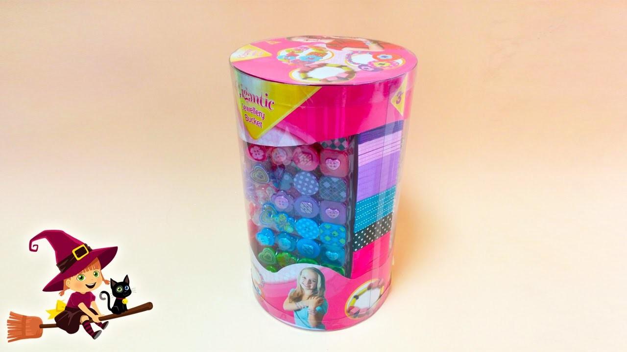 Pulseras y Collares Cubo Gigante de Accesorios | Como hacer pulseras