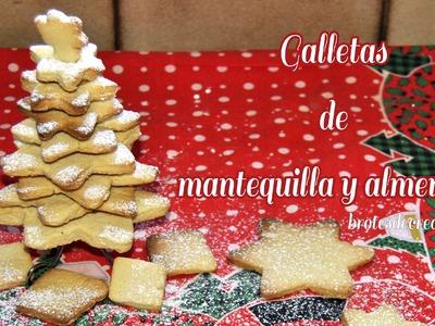 Receta: Galletas De Mantequilla Y Almendras - Brotes De Creatividad