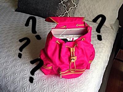 """TAG: """"Que hay en mi mochila?"""""""