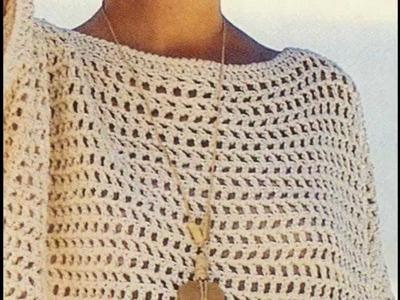 Tejido a crochet fácil y rápido
