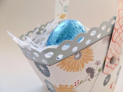 Cesta huevos de Pascua. Tutorial