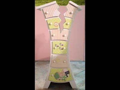 Como decorar un mueble con la linea de papeles Herminia Devoto