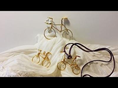 Cómo hacer bicicletas con hilo de aluminio | facilisimo.com