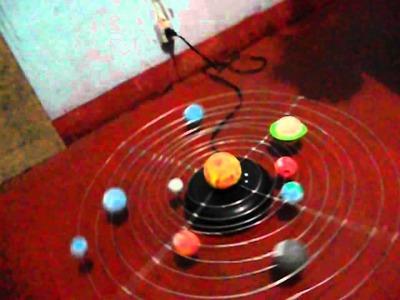 Como hacer Sistema solar