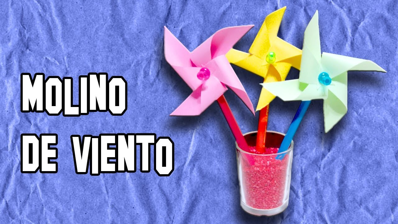 Como Hacer un Molino de Viento | How to Make a Windmill