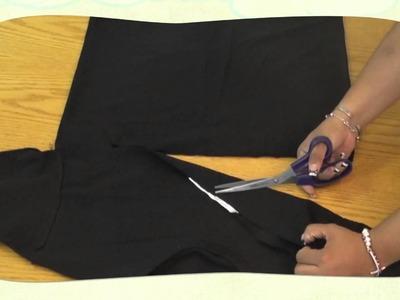 ¿Cómo hacer una bufanda muy Kul reciclando playera?