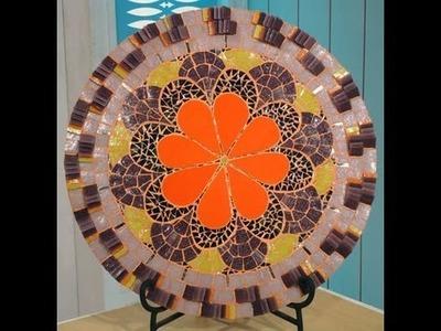 Como hacer una mandala con marco en movimiento - Mosaiquismo