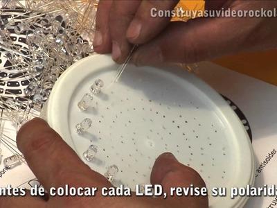 Construya un strober o estrobo con LEDs