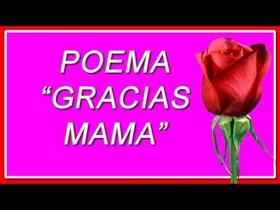 Feliz dia de La Madre - Gracias MAMA - Un Poema a Mi madre Ausente en el dia de La Madre