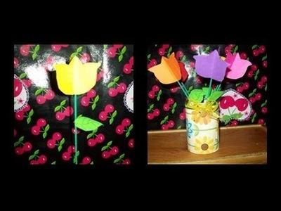 Flores de Papel Dia de las Madres