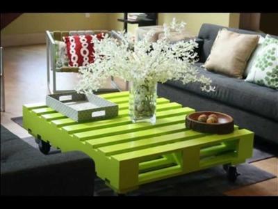 Manualidades para realizar muebles reciclados