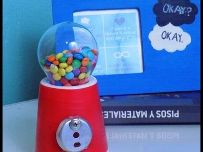Máquina dispensadora de dulces ( Funcional)