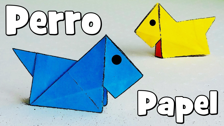 Perro de Papel - Origami