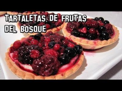 Recetas de Cocina | Como Hacer Tartaletas de Frutas del Bosque con Crema Pastelera