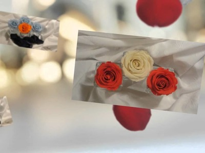 Rosas Naturales que perduran 4 a 5 años sin perder la textura, color y aspecto. (Roseland Chile)