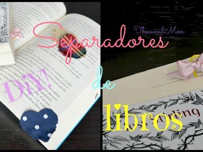 Separadores de Libros.DIY.Mon♥