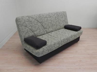 Sofa cama de fabricación nacional, con arcón. Color Arena (17103), Naranja (17104) y granate (17105)