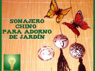 SONAJERO chino para adorno jardín 2ª parte
