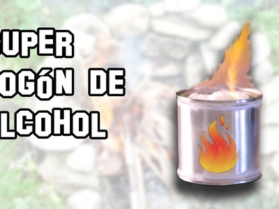 Super Fogón de Alcohol | Supervivencia