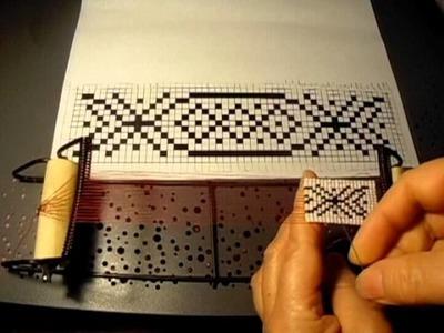 Tutorial como usar el telar para pulseras ojala que les agrade es muy fácil #2