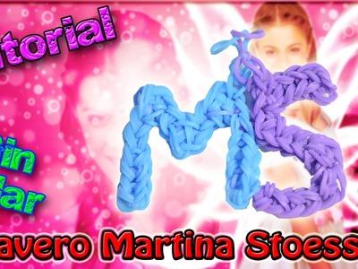 ♥ Tutorial: Llavero Martina Stoessel (MS) de gomitas (sin telar) ♥