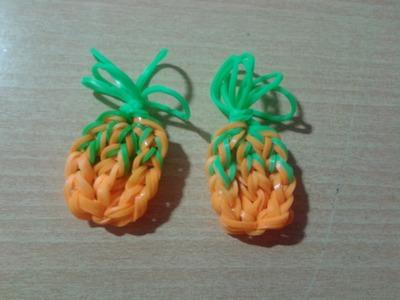 ♥ Tutorial: piña de gomitas (sin telar) ♥
