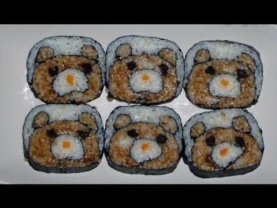 Video Receta: Como preparar kazari Maki. Maki para niños