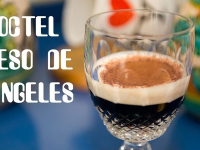 Coctel Beso de Angel con Licor de Cafe