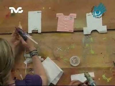 Cómo hacer Servilletas para Baby Shower (EC)