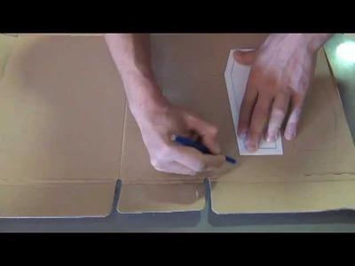 Cómo hacer un ataúd de cartón (www.racoinfantil.com)