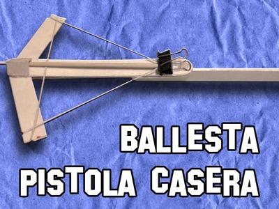 Como Hacer una Ballesta Casera | Making an crossbow Homemade
