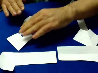 Como hacer una cruz y altar con una hoja de papel