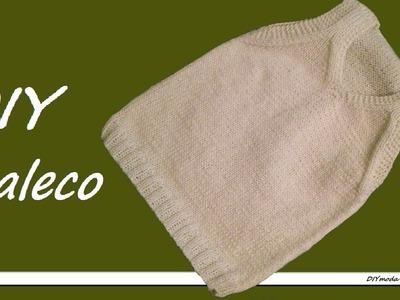 Cómo tejer chaleco o camiseta sin mangas para bebé 2a de 2 partes