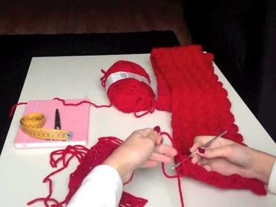 CÓMO TEJER: poner flecos a una bufanda.