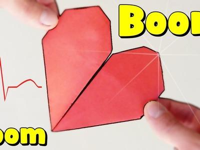 Corazón que LATE - Origami BOOM BOOM