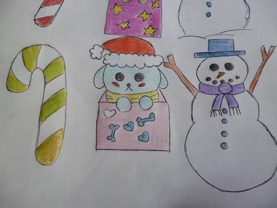 Crea dibujos navideños Dibujin Dibujado Aprende a Dibujar