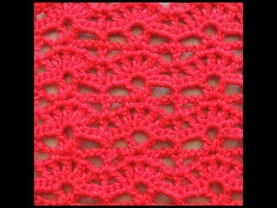 Crochet : Punto Abanico # 6