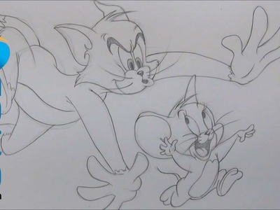 Dibujar a Tom y Jerry