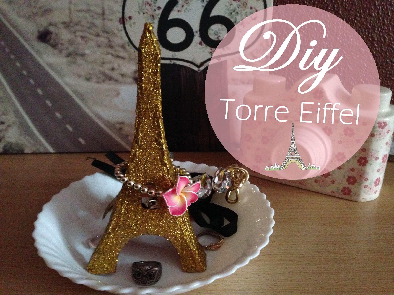 Diy | Torre Eiffel Organizador  (Bornprettystore)