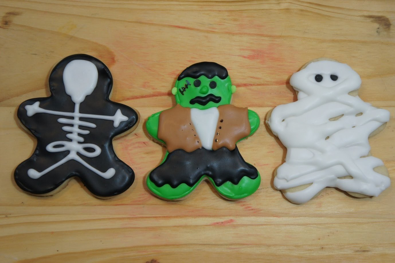 GALLETAS DE MANTEQUILLA (IDEAS PARA HALLOWEEN) - BAKING DAY