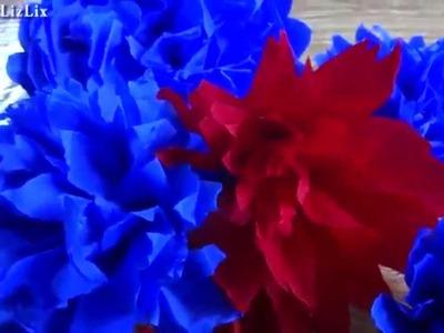 Hazlo tu mism@ DIY 20 : Flores de Papel Crepe + Flores faciles