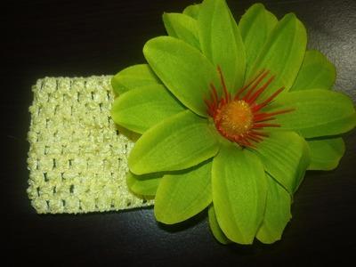 Ideas para  decorar accesorios con flores artificiales vídeo 134 Manualidades la hormiga