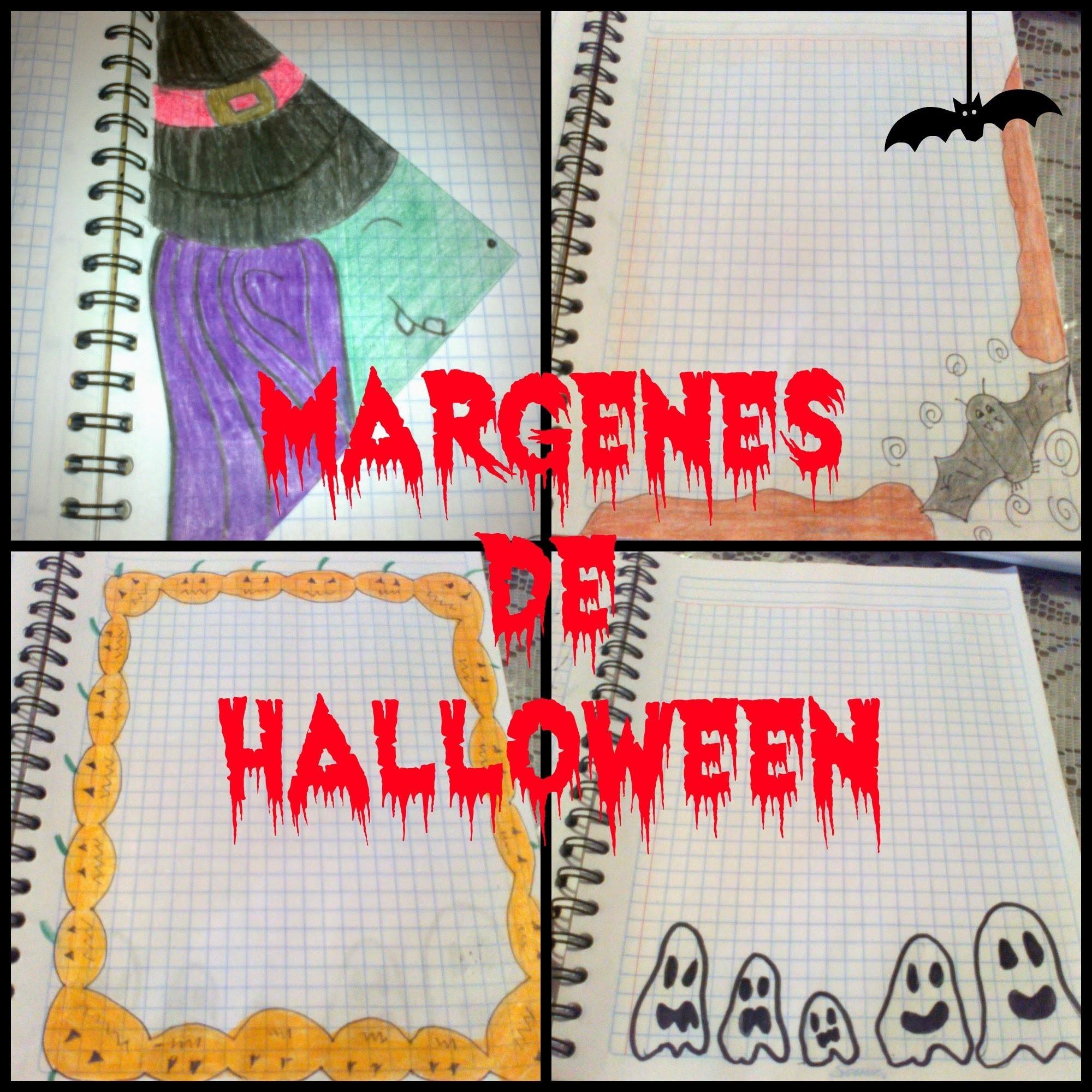 Margenes para tus cuadernos Halloween.ϝҽʅιȥ ɳσƈԋҽ ԃҽ Ⴆɾυʝαʂ