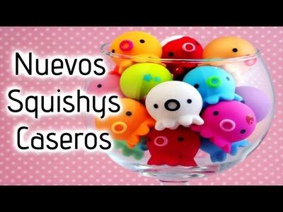NUEVA TEMPORADA ♥ Squishys Caseros (En español). CraftndColor