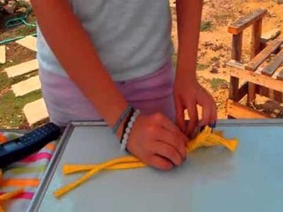 Tutorial: Como hacer alfombras con telas viejas, reutilizadas.