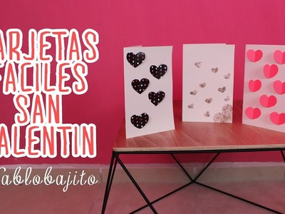 Tutorial para hacer tarjetas. San Valentin - Hablobajito