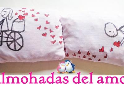 ➪ Almohadas del amor ♥ Regalo original para mi novio.a ♥