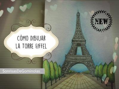 ✎Cómo dibujar la Torre Eiffel (Paso a paso, narrado) *SG